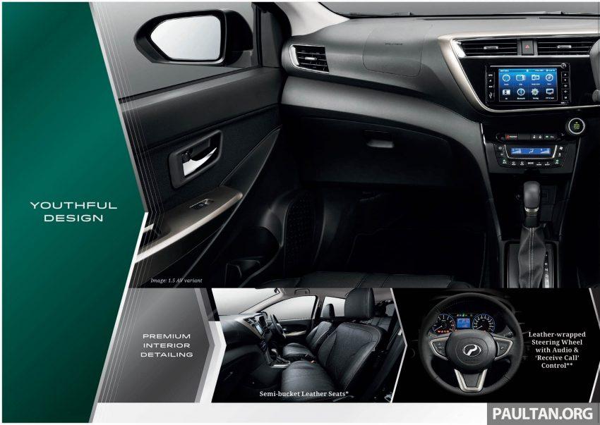 全新 Perodua Myvi 终于正式面市了,价格RM44-55K,全车系标配VSC+TRC以及LED头灯,顶配等级还有ASA! Image #48910