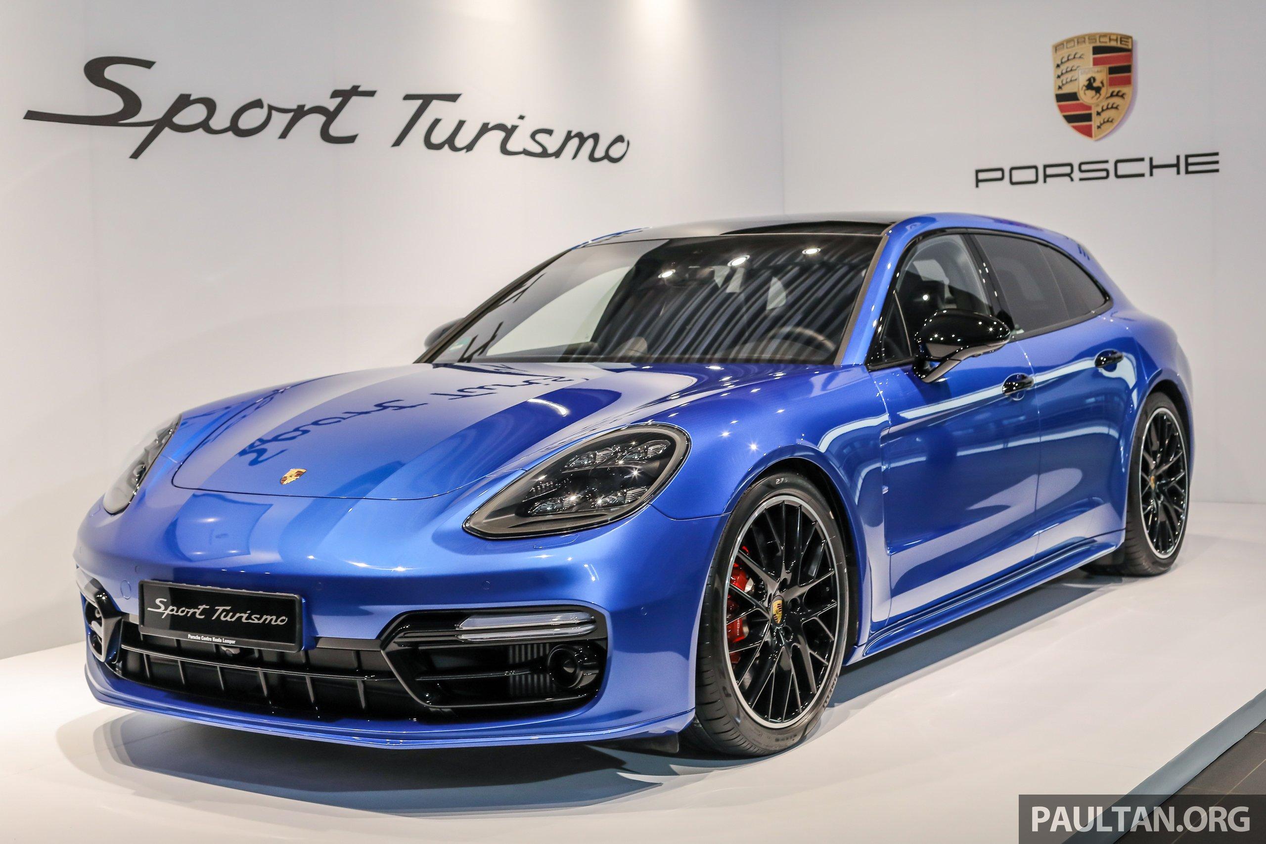 Porsche Panamera Sport Turismo 大马开放预览,base 4、4 E Hybrid 及