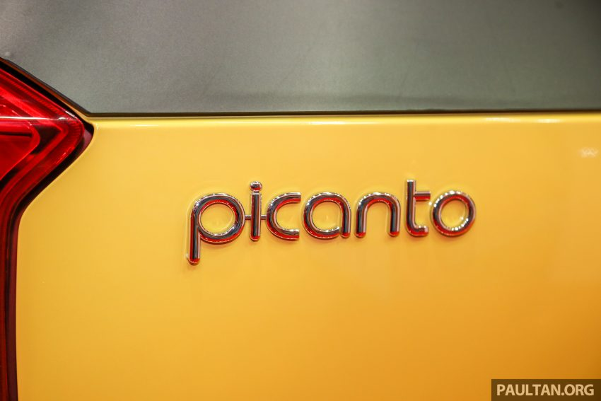 全新 Kia Picanto 本地再次公开预览,明年初将登场。 Image #48155