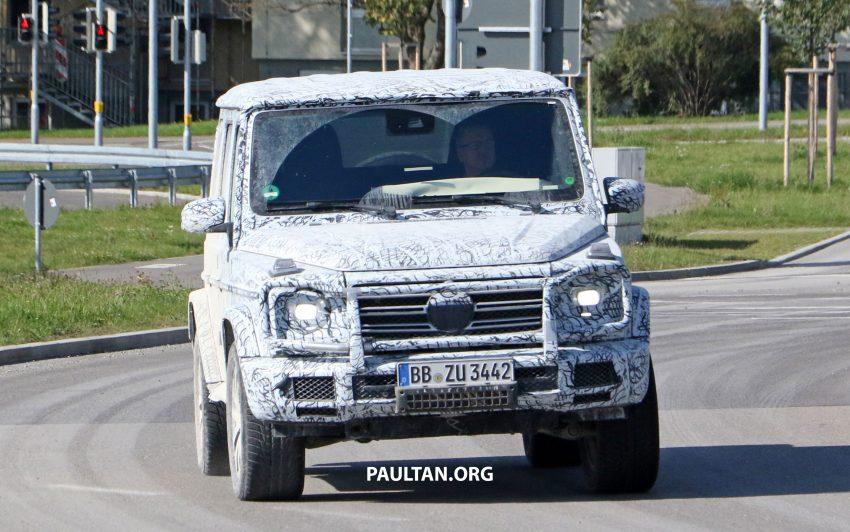 下一代 Mercedes-Benz G-Class 内装中控台设计曝光! Image #48502