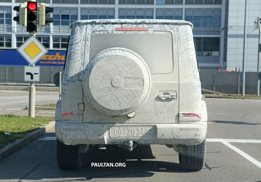 下一代 Mercedes-Benz G-Class 内装中控台设计曝光! Image #48508