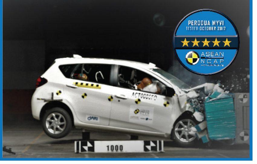 安全毋庸置疑! 全新 Perodua Myvi 获 ASEAN NCAP 5星! Image #48981