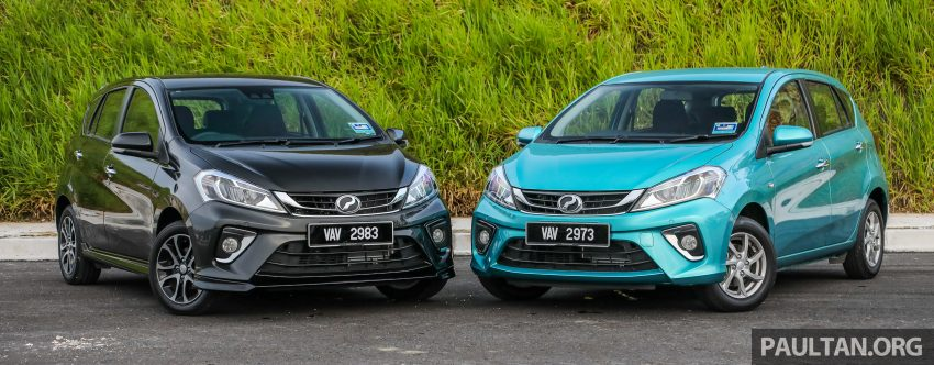 """图集:大马国民车,全新三代 Perodua Myvi 1.5 Advance 与 1.3 Premium X 实车照对比!哪一款才是您""""那杯茶""""? Image #49516"""