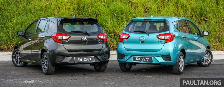 """图集:大马国民车,全新三代 Perodua Myvi 1.5 Advance 与 1.3 Premium X 实车照对比!哪一款才是您""""那杯茶""""? Image #49517"""