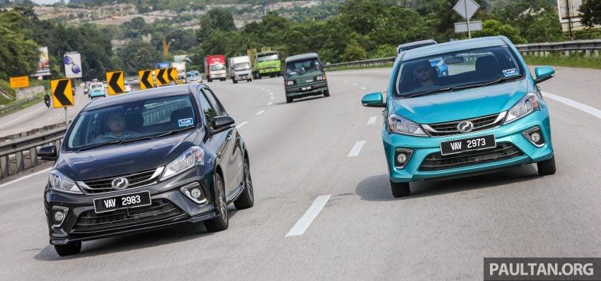 """图集:大马国民车,全新三代 Perodua Myvi 1.5 Advance 与 1.3 Premium X 实车照对比!哪一款才是您""""那杯茶""""? Image #49521"""