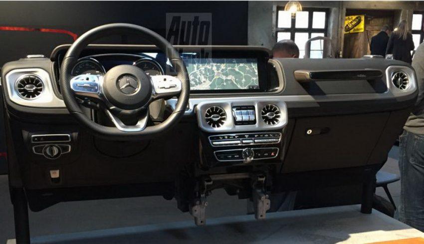 下一代 Mercedes-Benz G-Class 内装中控台设计曝光! Image #48511