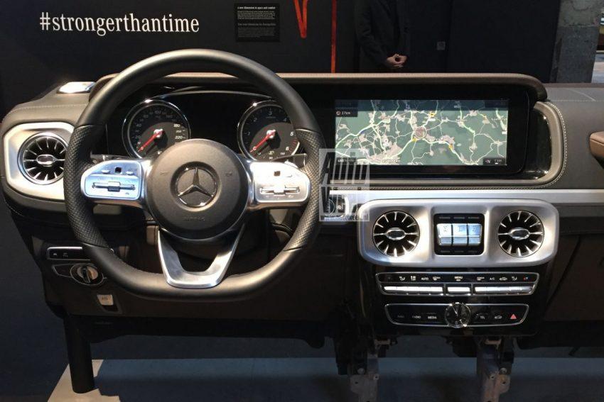 下一代 Mercedes-Benz G-Class 内装中控台设计曝光! Image #48512