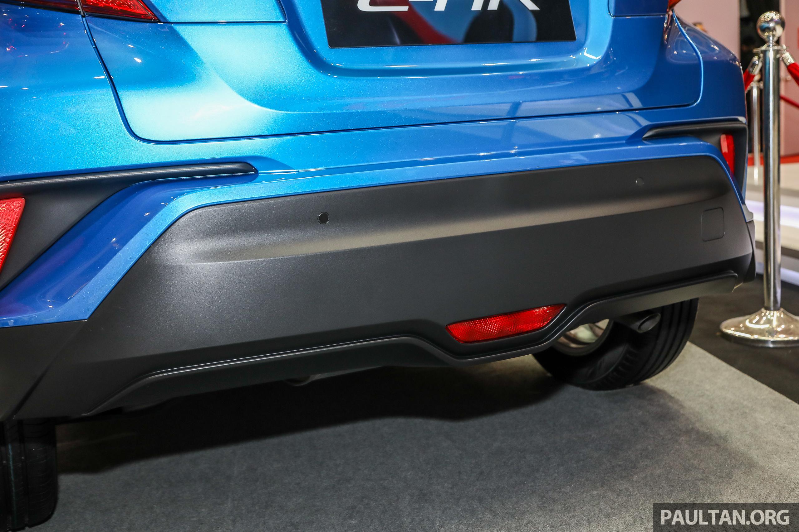 Toyota C-HR 本地版本展出,规格正式确认,明年上市。 Toyota C-HR 2018_Ext-28 ...