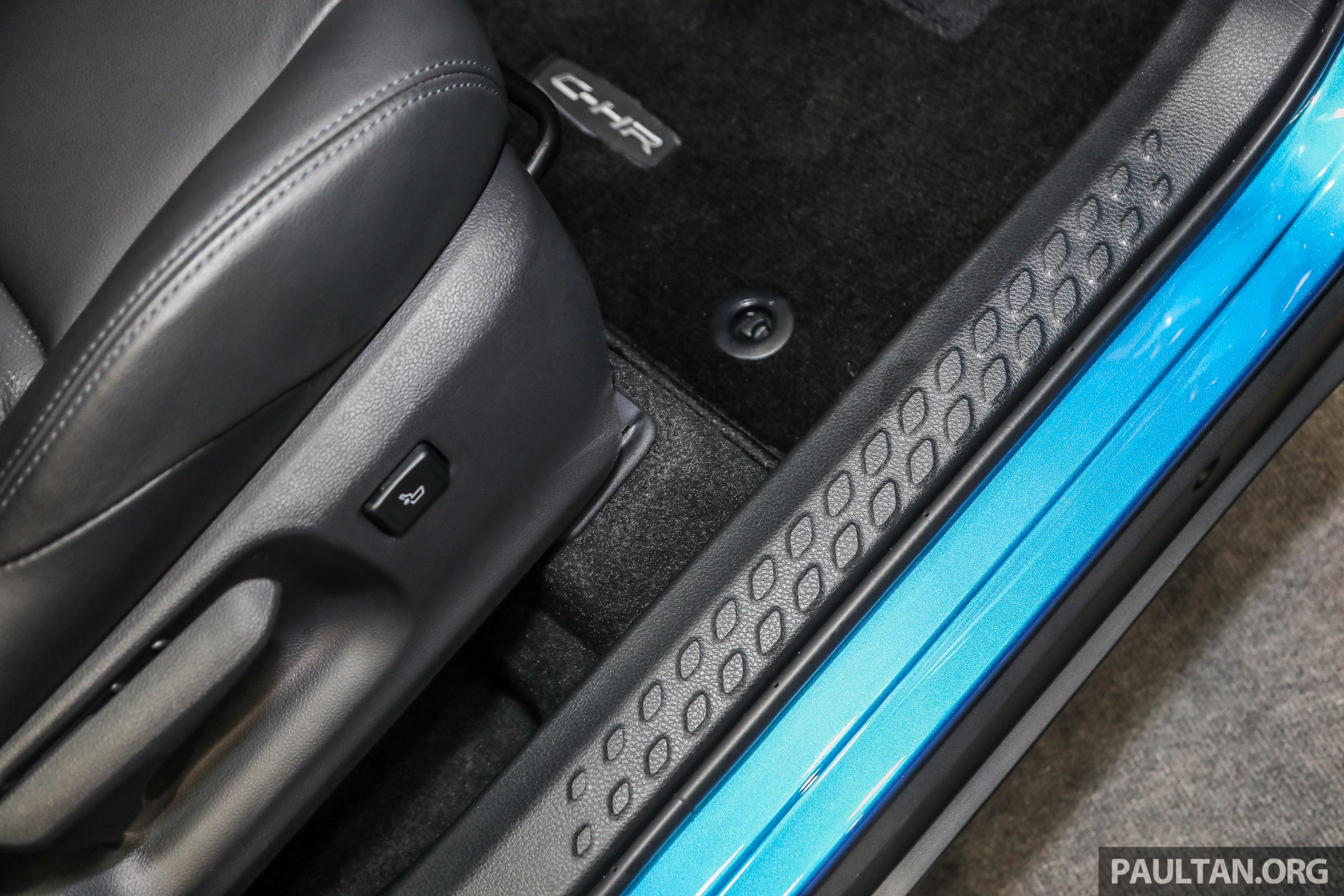 Toyota C Hr 本地版本展出,规格正式确认,明年上市。 Toyota C Hr 2018 Int 20