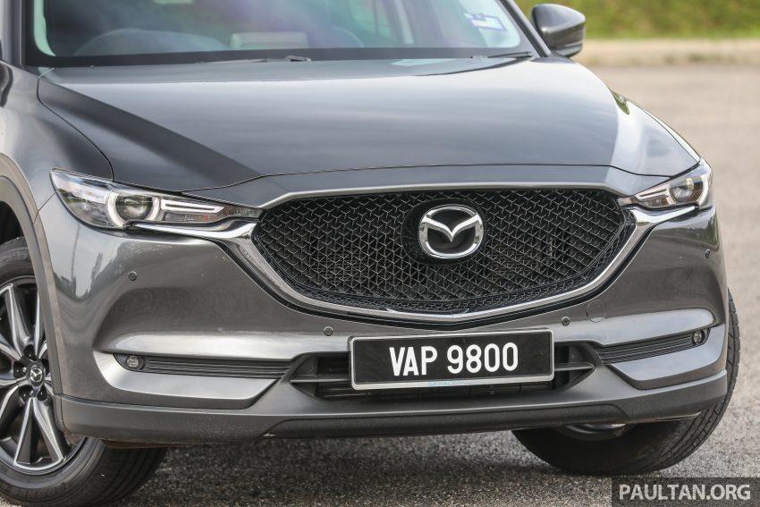 图集:Mazda CX-5 2.0 GL SkyActiv-G 2WD 与 2.2 GLS SkyActiv-D AWD, 两组实车照, 让你对比两个版本的差异。 Image #52432