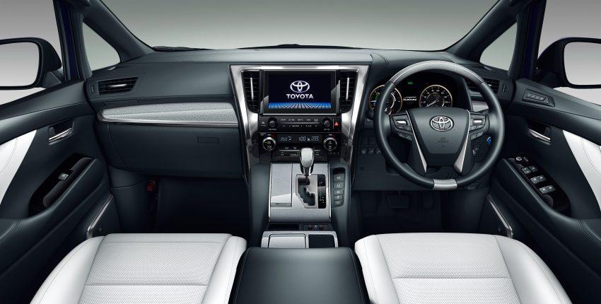 日本发布小改款 Toyota Alphard 与 Vellfire,搭载全新 3.5L V6 自然进气引擎,8AT变速箱,油耗表现更优秀! Image #52185