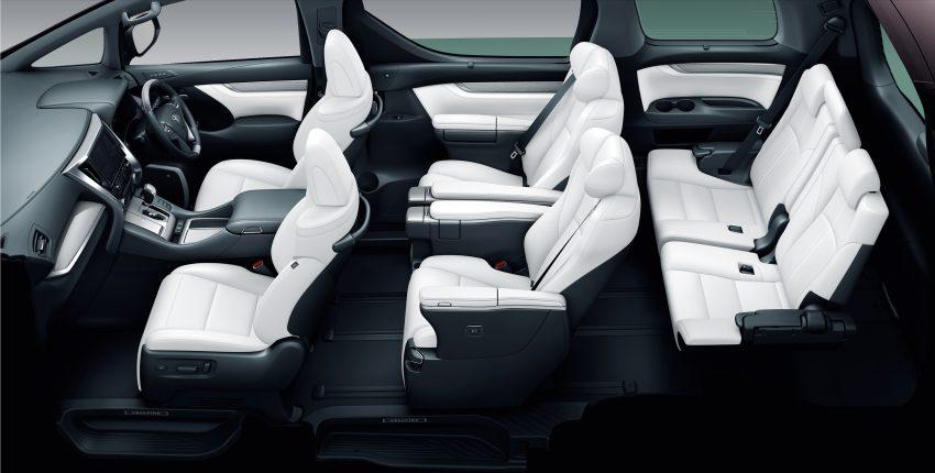 日本发布小改款 Toyota Alphard 与 Vellfire,搭载全新 3.5L V6 自然进气引擎,8AT变速箱,油耗表现更优秀! Image #52225