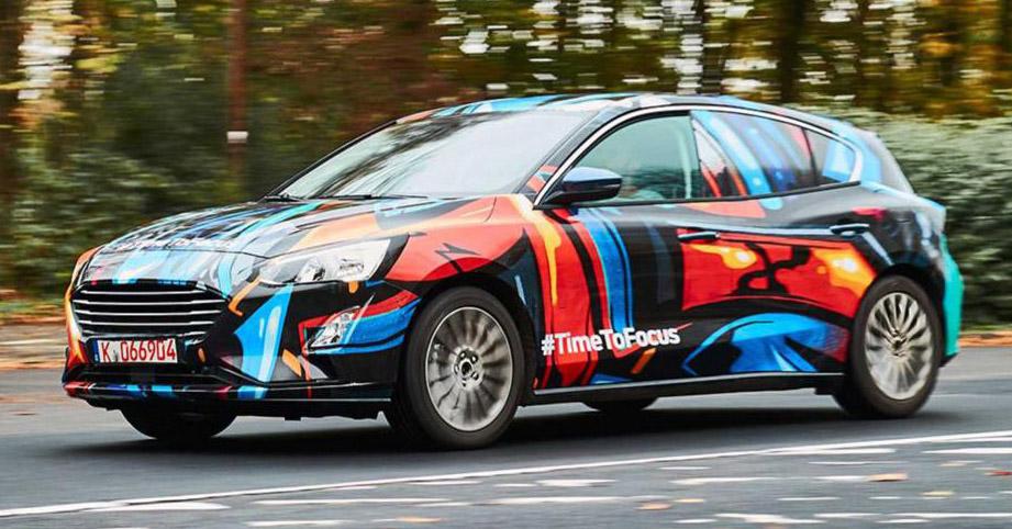 原厂发布全新 Ford Focus 首张预告图,明年正式面世。 2018-Ford-Focus-teaser - Paul Tan 汽车资讯网