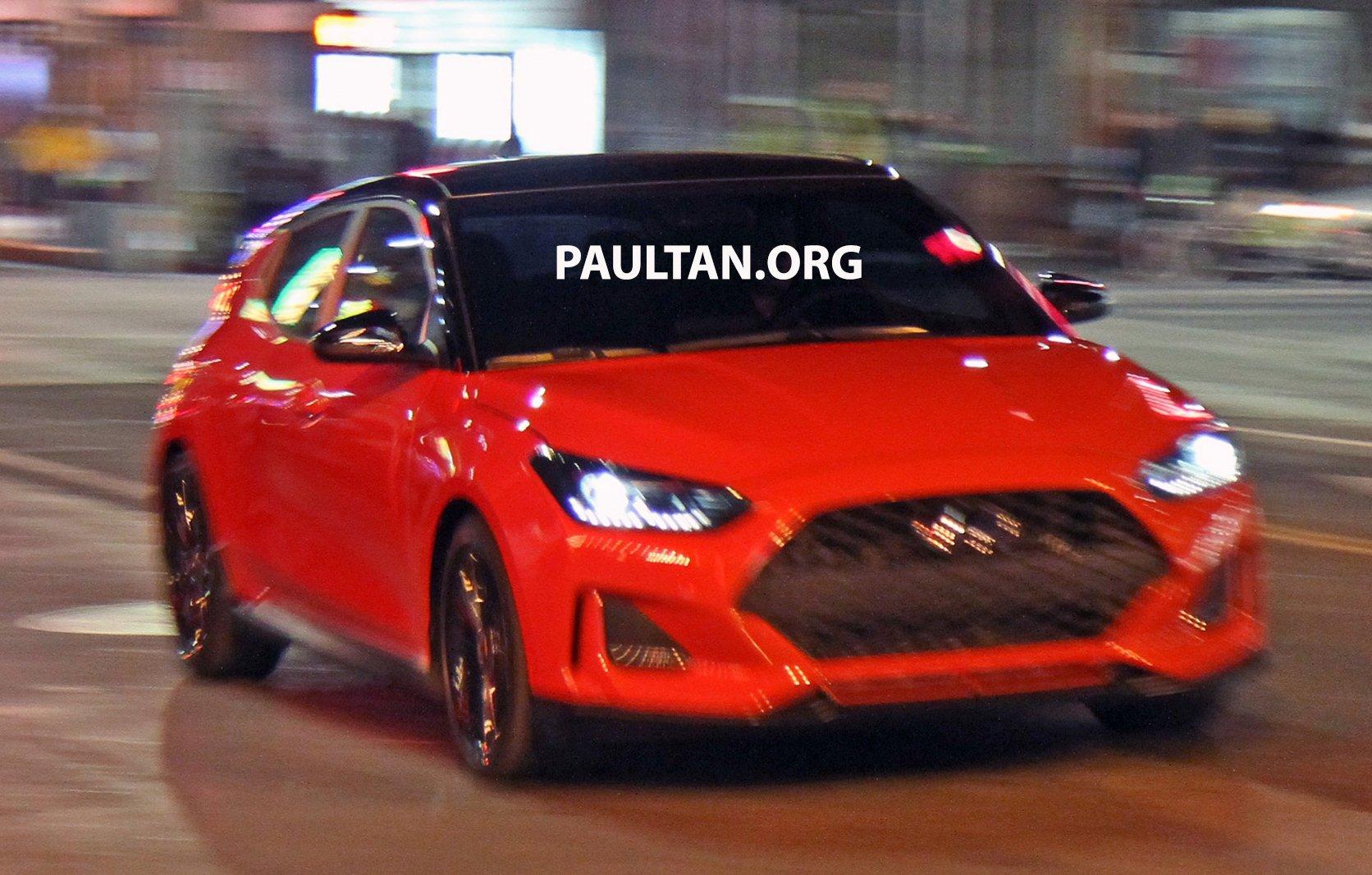 2019 Hyundai Veloster >> 谍照:2019 Hyundai Veloster Turbo 无伪装谍照曝光! 2019-Hyundai-Veloster-Spyshots-02 - Paul Tan 汽车资讯网