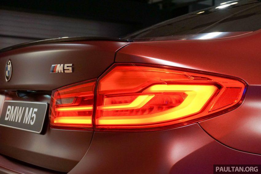 图集:F90 BMW M5 First Edition,全球只限量400辆! Image #51185