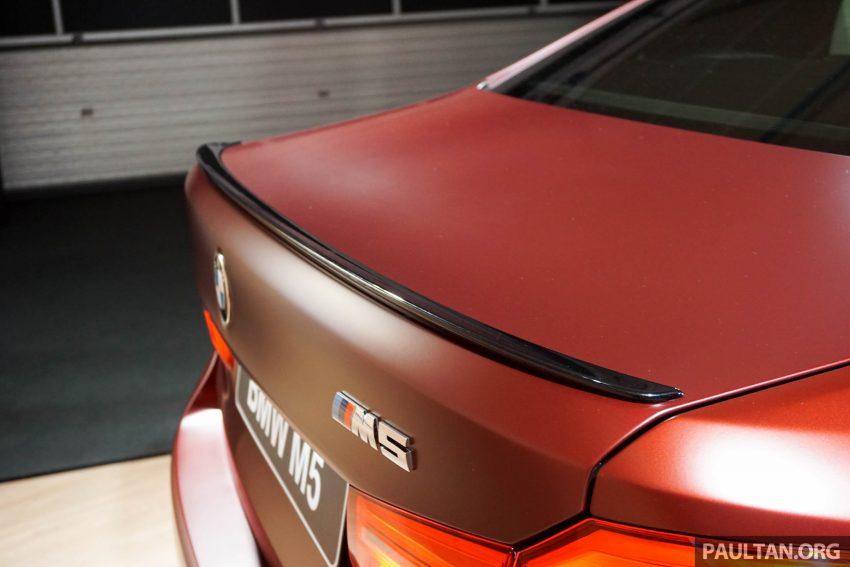 图集:F90 BMW M5 First Edition,全球只限量400辆! Image #51188