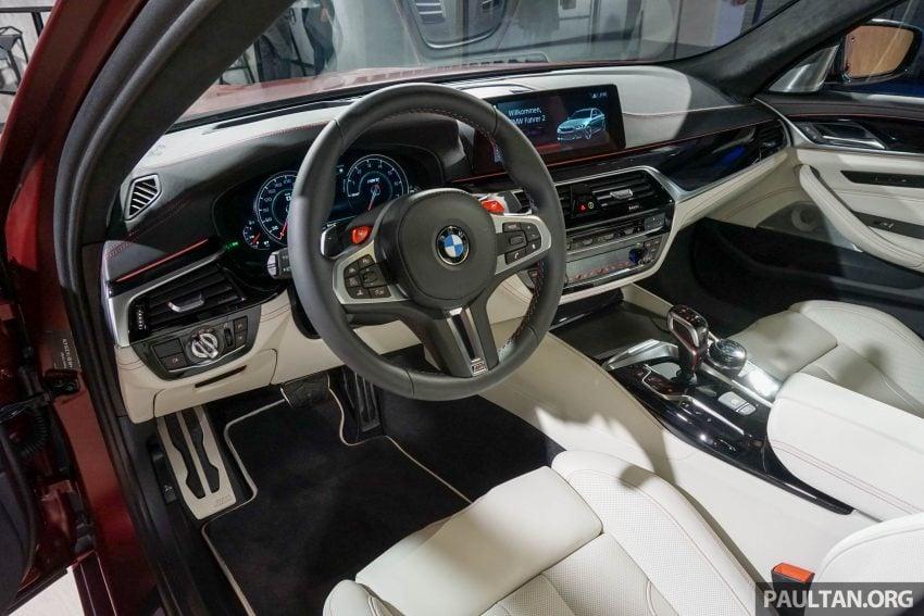 图集:F90 BMW M5 First Edition,全球只限量400辆! Image #51192