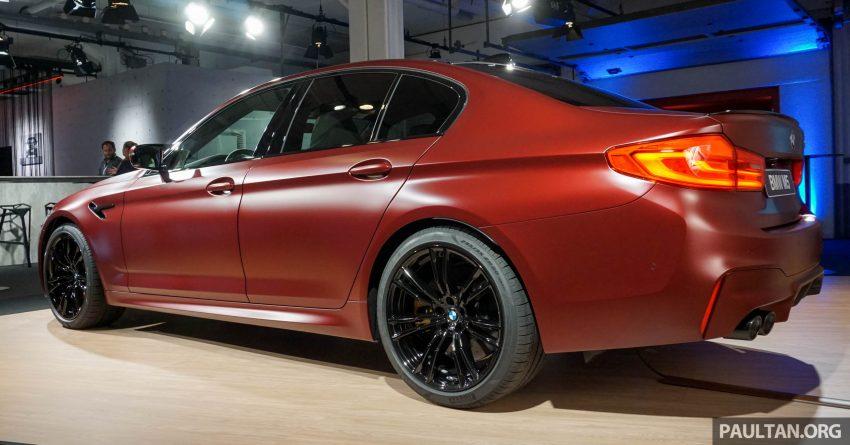 图集:F90 BMW M5 First Edition,全球只限量400辆! Image #51175