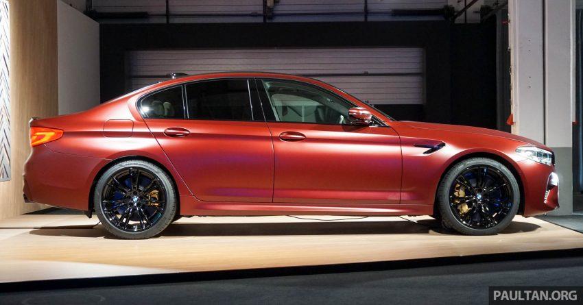 图集:F90 BMW M5 First Edition,全球只限量400辆! Image #51176