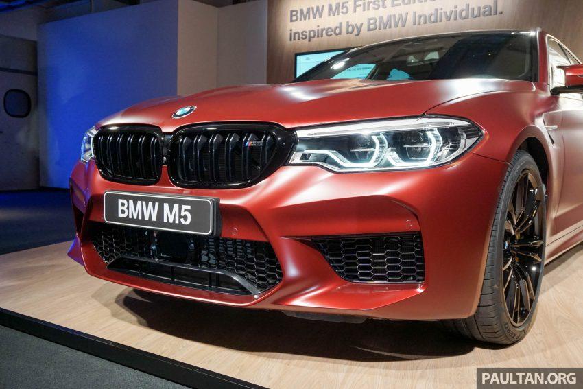 图集:F90 BMW M5 First Edition,全球只限量400辆! Image #51177