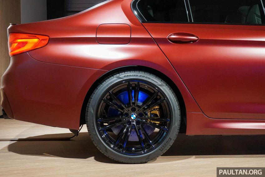 图集:F90 BMW M5 First Edition,全球只限量400辆! Image #51181