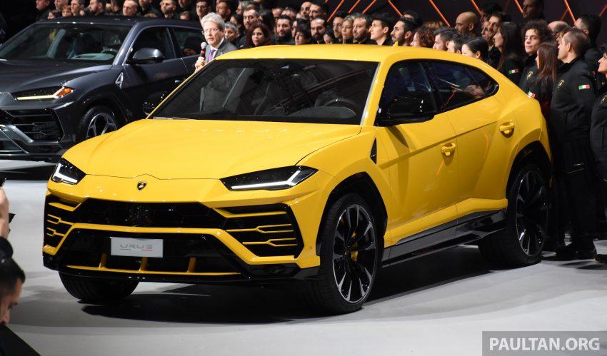 最强SUV, 超级跑旅 Lamborghini Urus 发布, 3.6秒破百! Image #51046