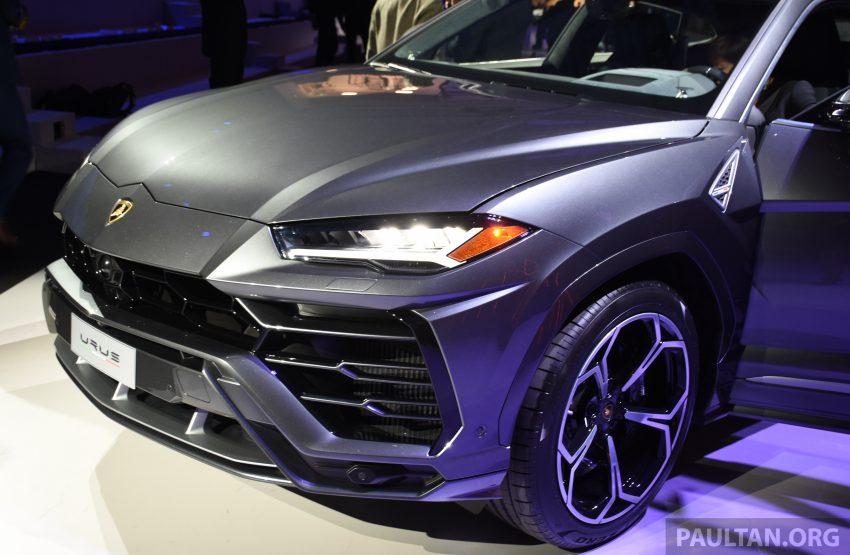 最强SUV, 超级跑旅 Lamborghini Urus 发布, 3.6秒破百! Image #51057