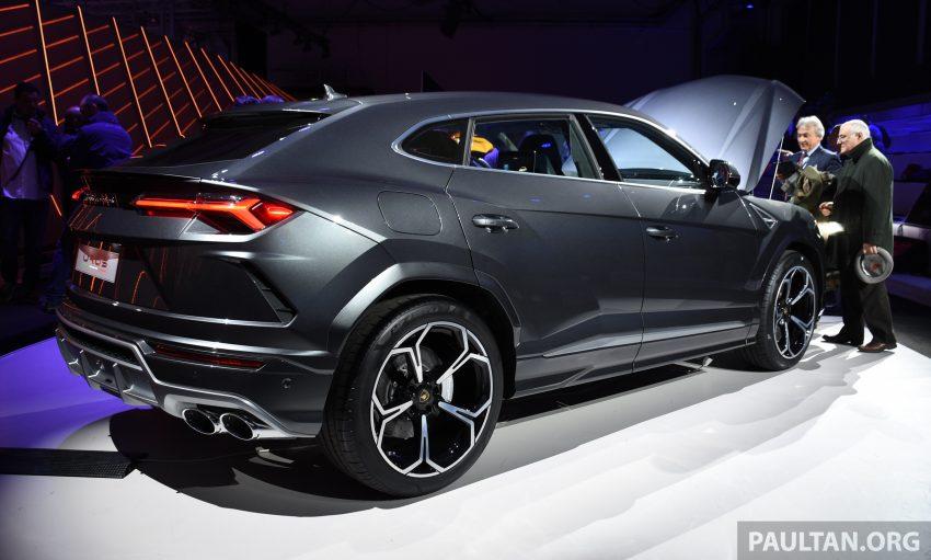 最强SUV, 超级跑旅 Lamborghini Urus 发布, 3.6秒破百! Image #51047