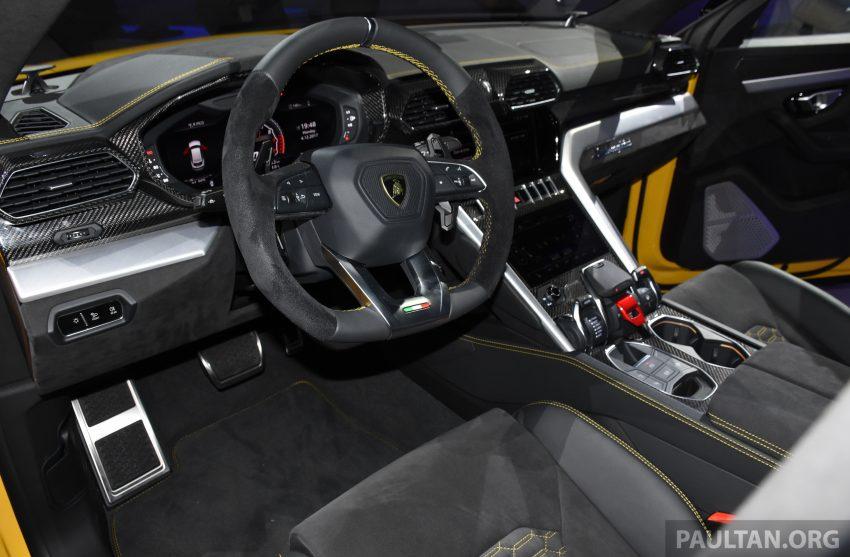 最强SUV, 超级跑旅 Lamborghini Urus 发布, 3.6秒破百! Image #51086