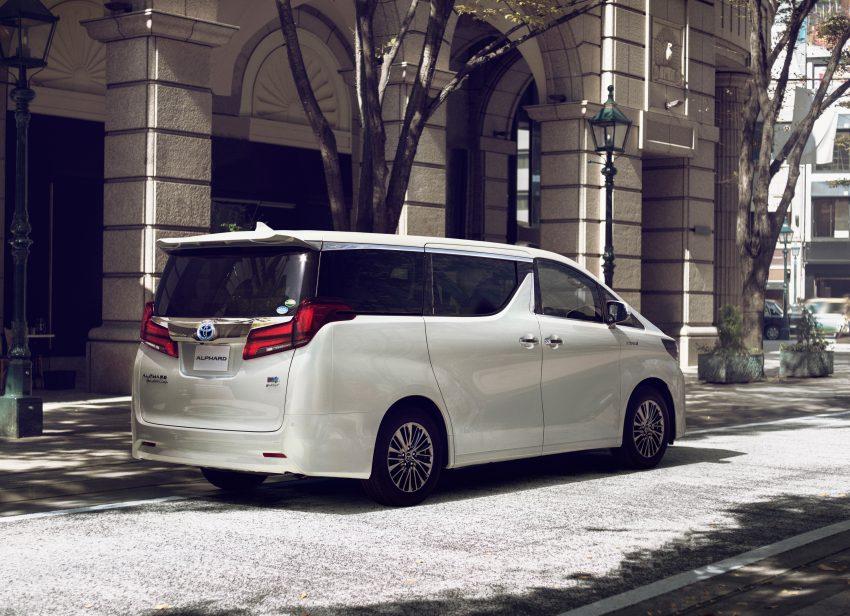 日本发布小改款 Toyota Alphard 与 Vellfire,搭载全新 3.5L V6 自然进气引擎,8AT变速箱,油耗表现更优秀! Image #52206