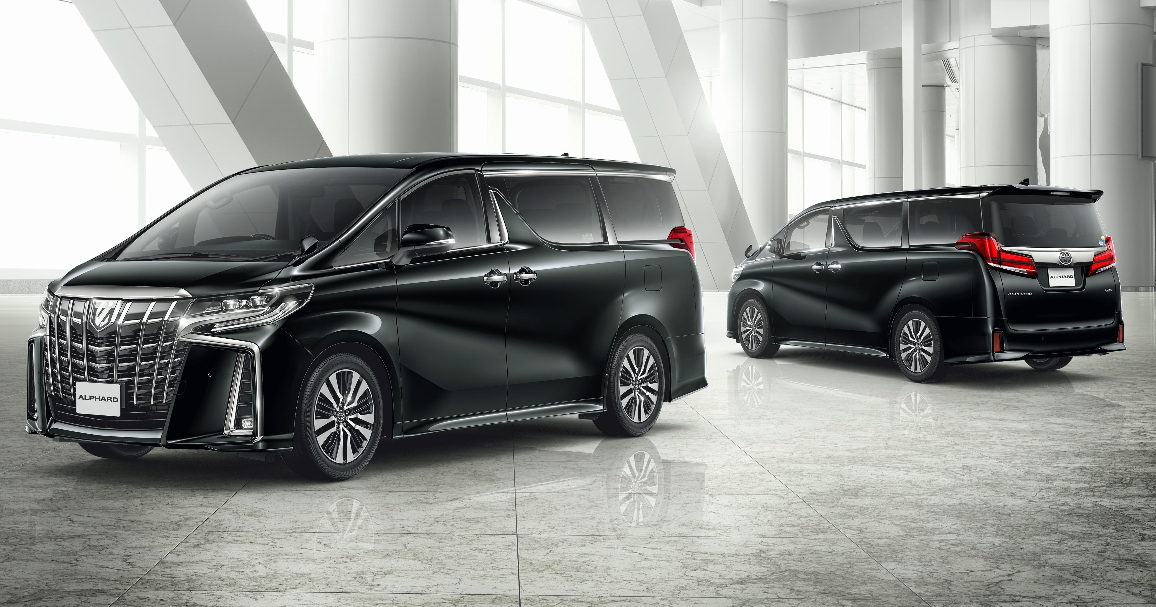 日本发布小改款 Toyota Alphard 与 Vellfire,搭载全新 3 5l V6 自然进气引擎,8at