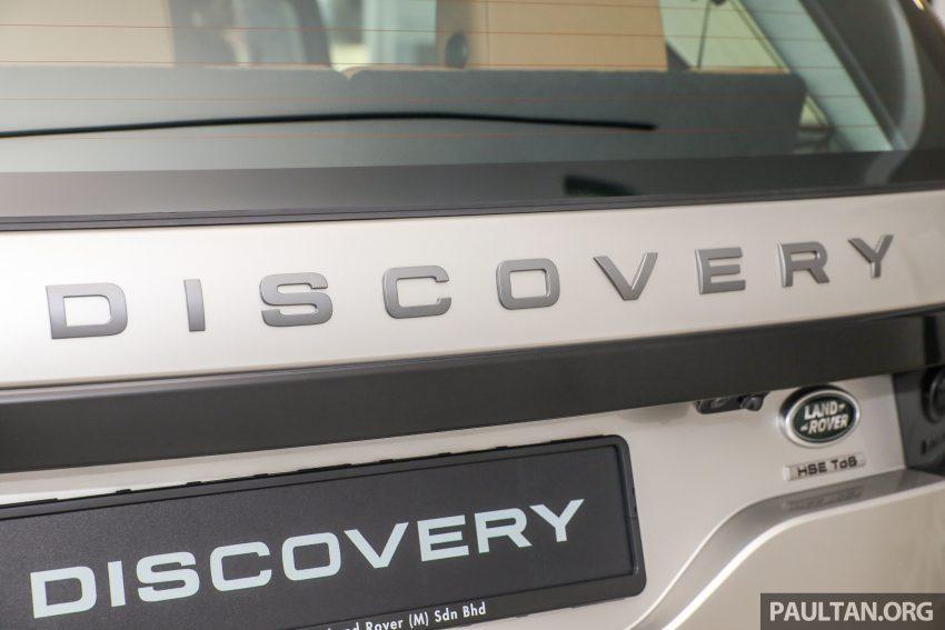 全新 Land Rover Discovery 本地上市,单一等级开价73万 Image #54431