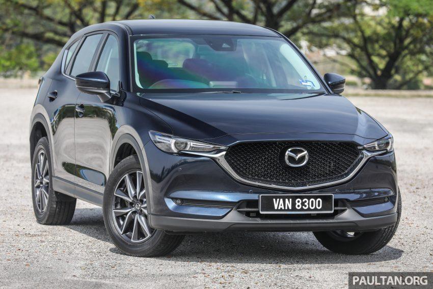 Mazda CX-5, 汽油与柴油各等级实拍照, 超完整规格列表 Image #57655