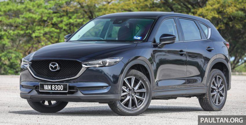 Mazda CX-5, 汽油与柴油各等级实拍照, 超完整规格列表 Image #57658