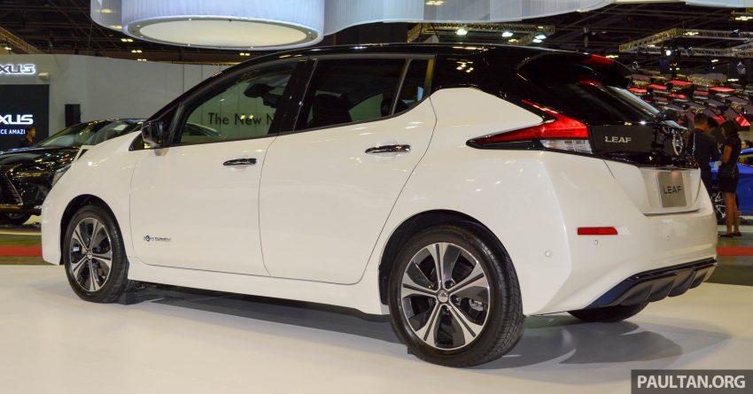 图集:2018 Nissan Leaf 新加坡车展展出, 今年登陆大马! Image #54644