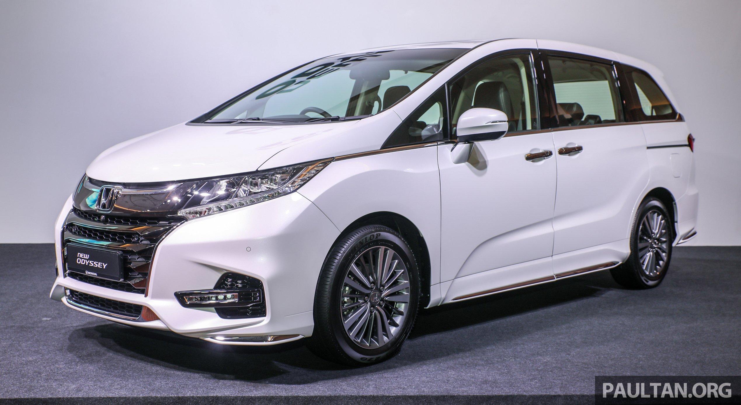 2018 Honda Odyssey 小改款正式发布,售价RM 254,800 2018 Honda Odyssey ...