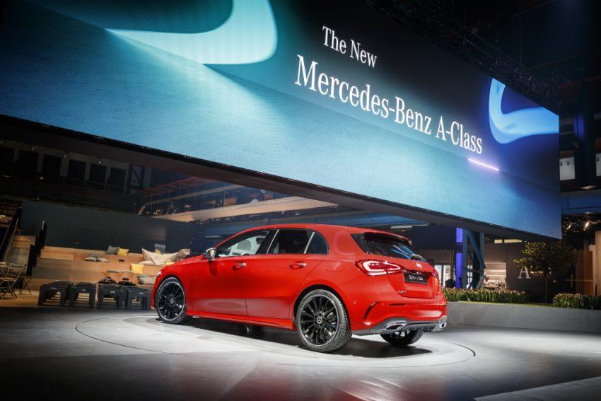 大改款小钢炮!2018 Mercedes-Benz A-Class 正式发布 Image #58036
