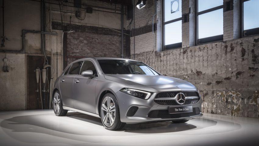 大改款小钢炮!2018 Mercedes-Benz A-Class 正式发布 Image #58040