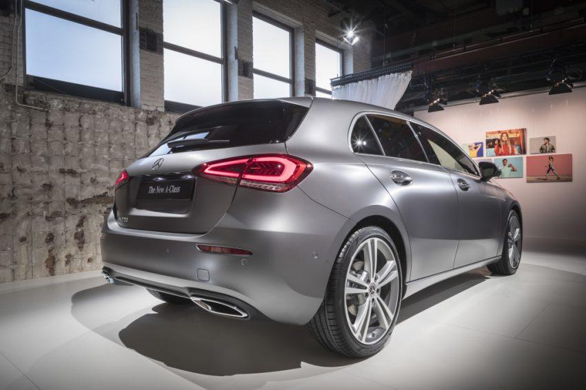 大改款小钢炮!2018 Mercedes-Benz A-Class 正式发布 Image #58041