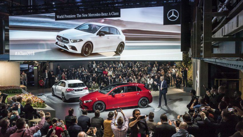 大改款小钢炮!2018 Mercedes-Benz A-Class 正式发布 Image #58065