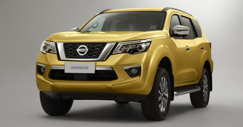 与Nissan Navara 共用底盘,中国发布 Nissan Terra 官图 Image #59768