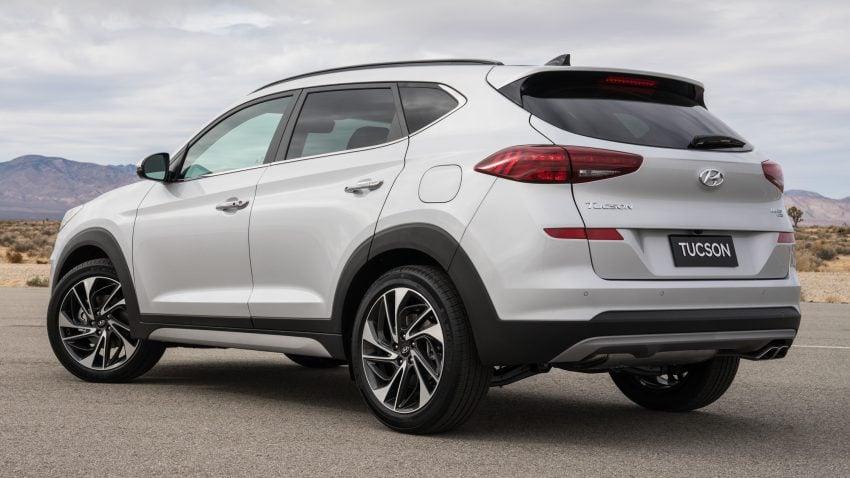 2019 Hyundai Tucson 小改款,美规版弃涡轮引擎及DCT Image #64337
