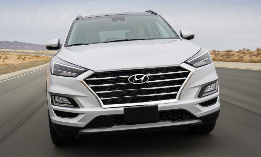 2019 Hyundai Tucson 小改款,美规版弃涡轮引擎及DCT Image #64329
