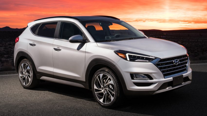 2019 Hyundai Tucson 小改款,美规版弃涡轮引擎及DCT Image #64336