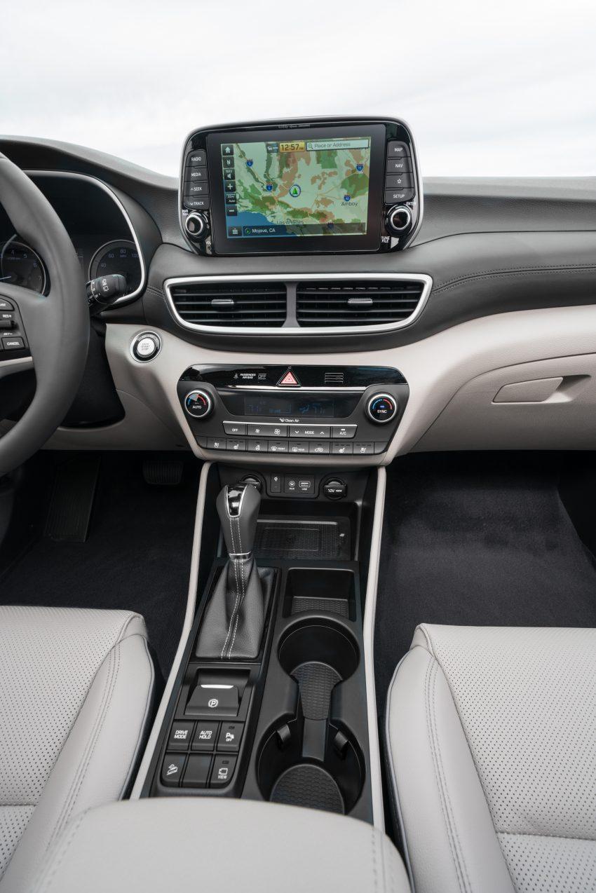 2019 Hyundai Tucson 小改款,美规版弃涡轮引擎及DCT Image #64341