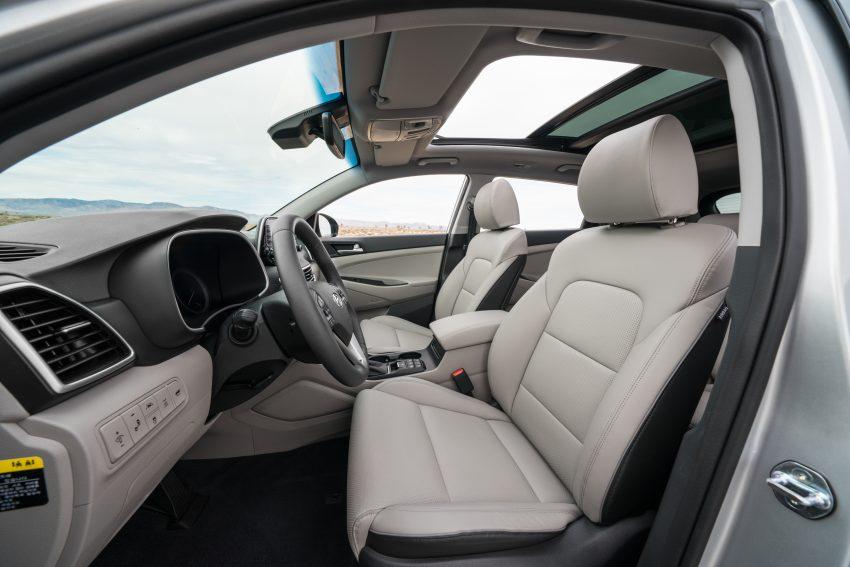 2019 Hyundai Tucson 小改款,美规版弃涡轮引擎及DCT Image #64343