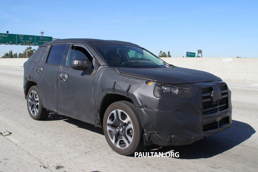 官方释出预告,2019 Toyota RAV4 即将在纽约车展亮相 Image #61372