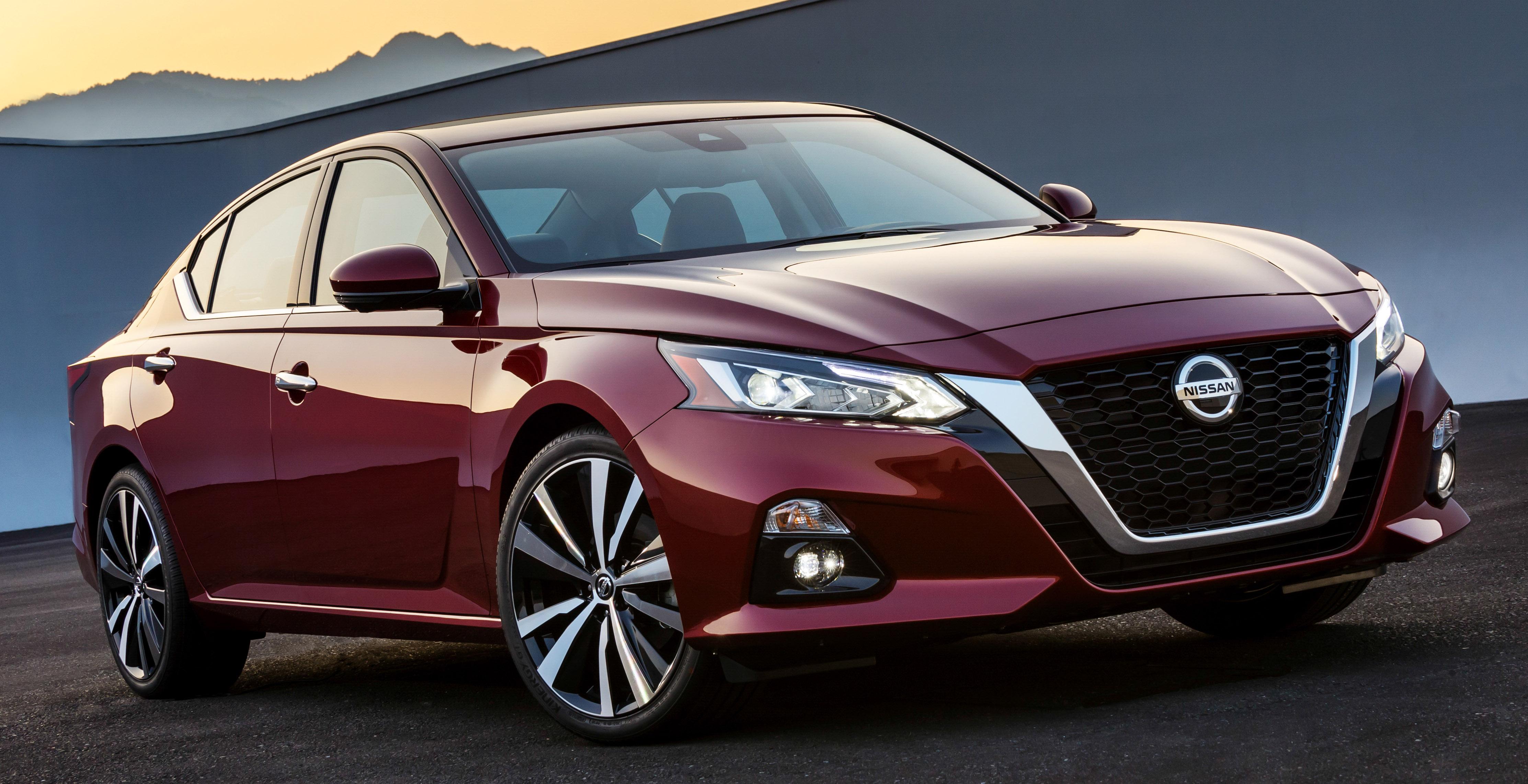 美国发布全新 Nissan Altima,搭载可变压缩比涡轮引擎 2019 Nissan Altima - Paul ...