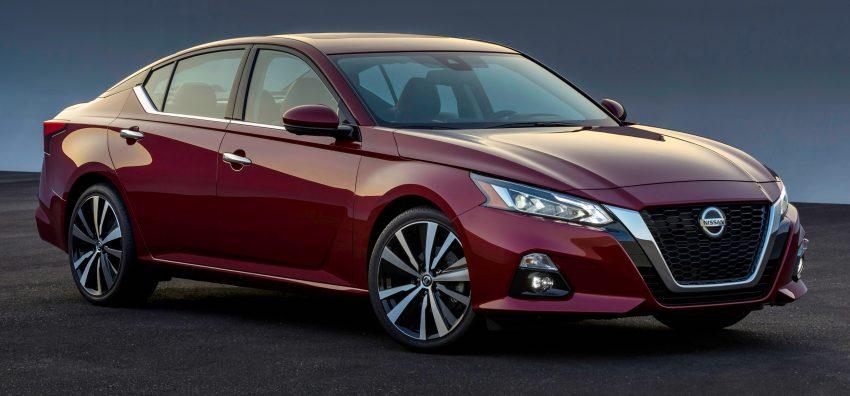 美国发布全新 Nissan Altima,搭载可变压缩比涡轮引擎 Image #64085
