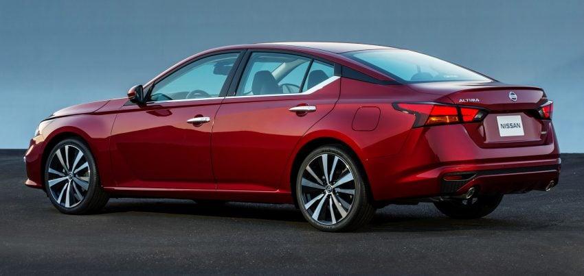 美国发布全新 Nissan Altima,搭载可变压缩比涡轮引擎 Image #64087